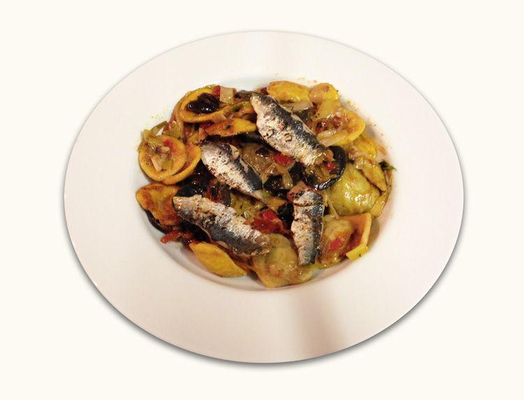 imagen de Pasta con sardinas
